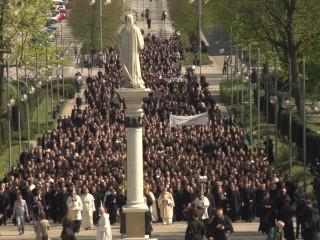 Klerycy z całej Polski u Matki Boga