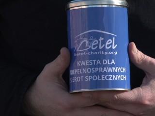"""Zbiórka dla niepełnosprawnych z """"Betel"""""""