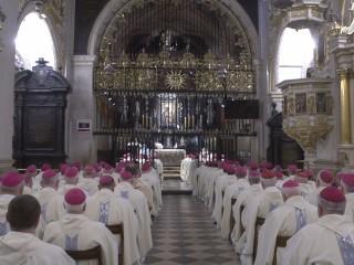 Trzeci dzień biskupich rekolekcji