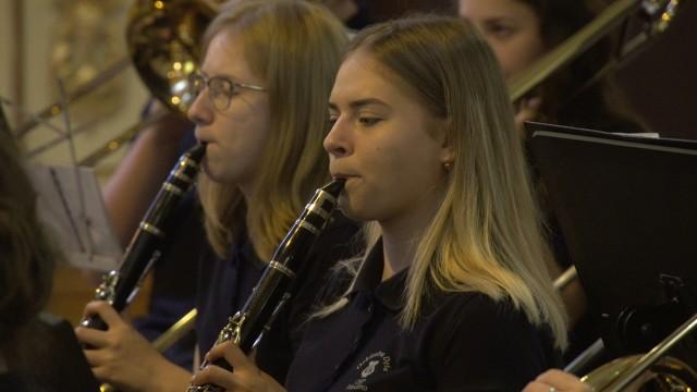 Koncert w parafii Miedźno